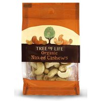 Tree of Life Organic Naked Cashews 40g