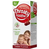 Throaty Soothe Cherry Syrup 100ml