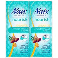 Nair Shower Power Cream Hair Remover Twin Sachet 30ml