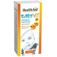 Health Aid Baby Vit Multivitamin Liquid Drops 25ml