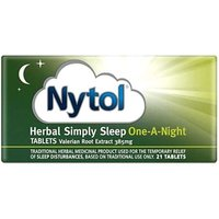 Nytol Herbal Simply Sleep One-A-Night Tablets 21