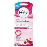 Veet Face Precision Wax Strips 20