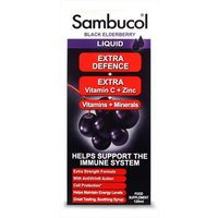 Sambucol Black Elderberry Extra Defence 120ml