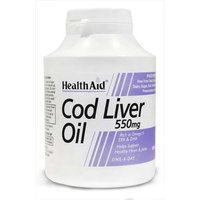 Health Aid Cod Liver Oil 550mg 180 Capsules