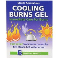 Cooling Burns Gel Sachets 6