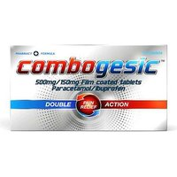 Combogesic Double Action Pain Relief 32 Tablets