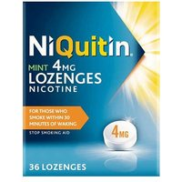 NiQuitin Mint 4mg Lozenges 36