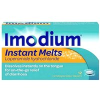 Imodium Instant Melts 12 Tablets