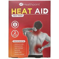 Healthpoint Heat Aid Heat Pads x2