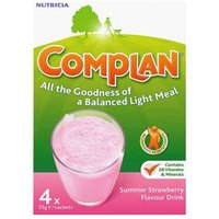 Complan Strawberry Flavour Drink 4 Sachets
