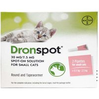 Dronspot Small Spot-On Solution 2 Pipettes