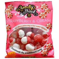 Candy Shack Strawberry and Cream Sweets 120g