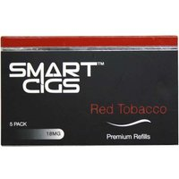 Smart Cigs Premium Refills Red Tobacco 18mg 5