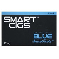 Smart Cigs Premium Refills Blue Tobacco 12mg x 5
