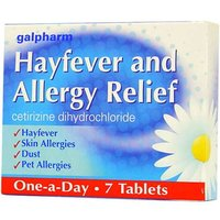 Galpharm Hayfever & Allergy Relief Tablets (7)