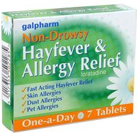 Galpharm Non-Drowsy Allergy Relief Tablets (7)